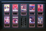 *Rare Boxing Heavyweight Champions Museum Framed Collage - Plate Signed