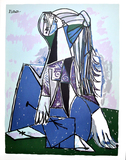 PABLO PICASSO The Thinker Print, 190 of 500