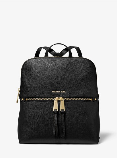 """Gorgeous Brand New Never Used MICHAEL KORS """"JESSA BLACK"""" MD CONV BACKPACK. Tag Price $298.00"""