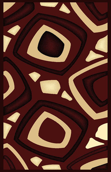 Gorgeous 4x6 Emirates Burgundy 522 Rug High Quality  (No Rug Sold Out Of Country)