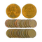 (25) Assorted 1940-1950 Wheat Pennies Coin