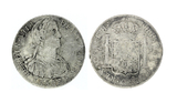 Extremely Rare 1809 Eight Reale American First Silver Dollar Coin Great Investment