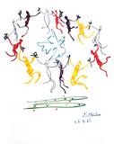PABLO PICASSO Le Rhonde Print, 474 of 500