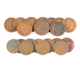 Rare (10) Various Years U.S. Indian Head Pennies - Great Investment -