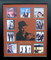 *Rare Frank Sinatra Album Covers and Laser Cut Mat Museum Framed Collage - Plate Signed