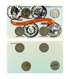 4pc. American Nickel Of The 20th Century (Liberty Head, Buffalo, Jefferson & Wartime Nickel silver C