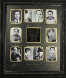 *Rare Gangster Legends Museum Framed Collage - Plate Signed