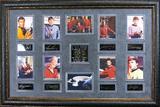 *Rare Star Trek The Original Series Museum Framed Collage - Plate Signed