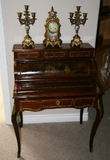 French Inlaid Desk - Pick Up Only -PNR-