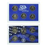 2002 U.S. (5pc) Mint State Quarters Coins Proof Set