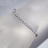 APP: 16.5k *Fine Jewelry 14KT. White Gold, 7.00CT Round Brilliant Cut Diamond Bracelet (VGN A-43) (V