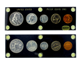Extremely Rare 1961 Silver Proof Set Great Investment