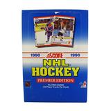 Rare 1990 Box Premier Edition NHL Cards Over 500 Cards Per Box