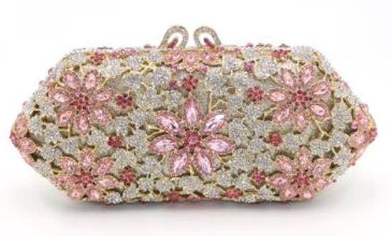 *Rare Exquisite Swarovski Crystal Element Handbag by Christal Couture - Lavish Yourself w/Jewels - P