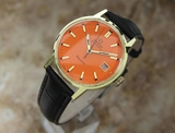 *Omega Geneve 35mm Swiss 1970s Automatic Gold Plated Vintage Mens Watch -P-