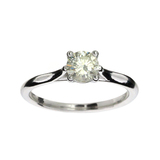 APP: 3.6k 14kt Gold Gorgeous 0.65ct Diamond Solitaire Ring - Great Investment