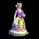 Lady Figurine Porcelain