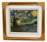 Van Gogh (After) -Limited Edition Museum Framed Print 01 -Numbered