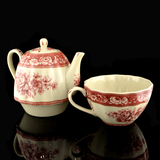 Red Tea For One Set