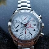 *Omega Speedmaster Olympic Games Chronograph Men's 2010 Auto Watch -P-