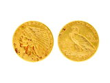 Rare 1913 $2.50 U.S Indian Head Gold Coin - Great Investment -