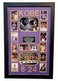 *Outstanding Kobe Bryant Memorabilia Piece Plate Signed -Great Investment!