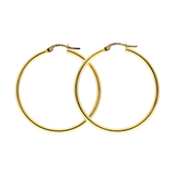 14KT. Gold Hoop Earrings