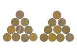 1909-P U.S. (10pcs) Wheat Pennies Coins