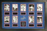 *Rare L.A. Dodger Legends Museum Framed Collage - Plate Signed