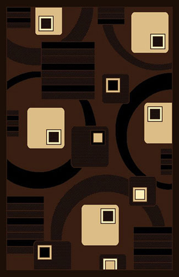 Gorgeous 4x6 Emirates Brown 529 Rug  Plush, High Quality  (No Rug Sold Out Of Country)