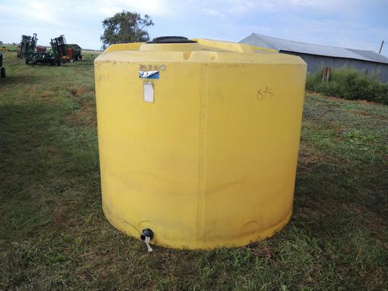 Ace Roto-Mold 1600 Gallon Poly Tank