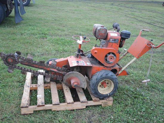 Ditch Witch C9 4' Trencher #106644