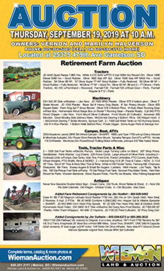 Retirement Farm Auction