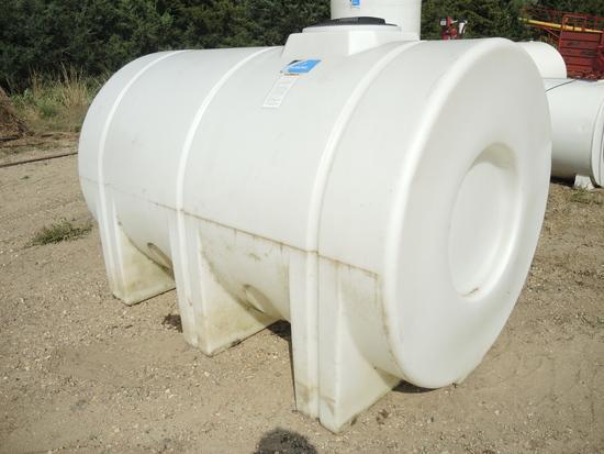 1500 Gal Poly Tank