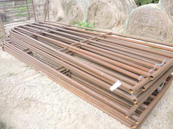 New 16' Steel Gates