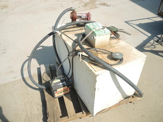 Pickup Diesel Tank w/12V Pump