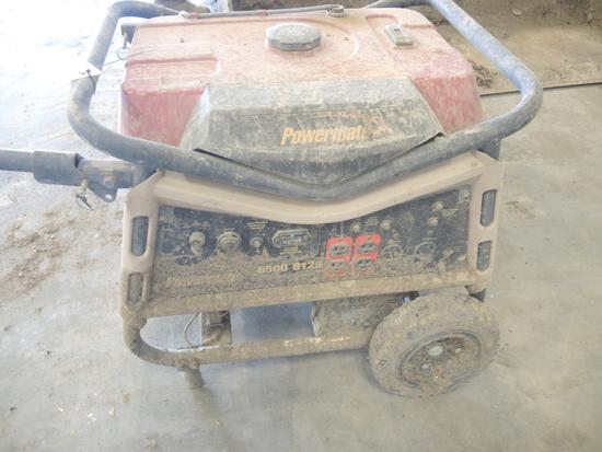 Powermate 6500W Gas Generator