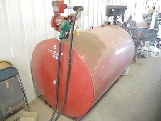 500 Gal Fuel Tank w/Electric Pump