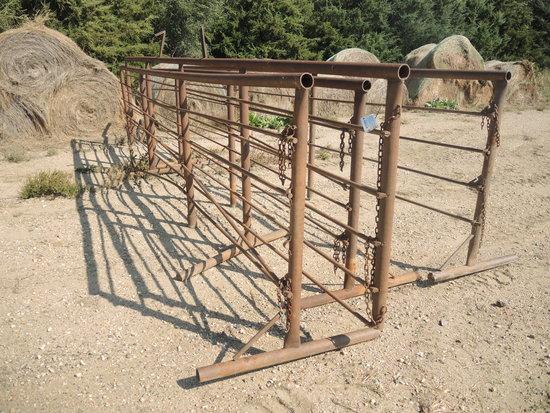 Free Standing 24' Steel Panels