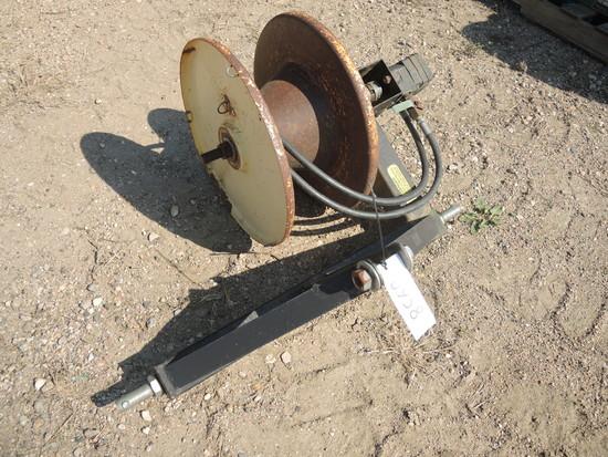 3pt. Hydraulic Wire Winder