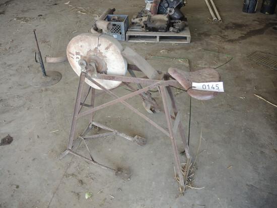 Antique Grinding Wheel