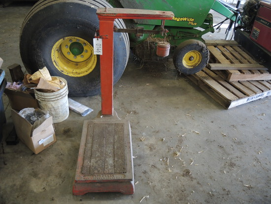 Antique Scale, No Wheels