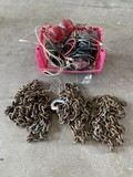 3 Chains & Magnetic Trailer Lights