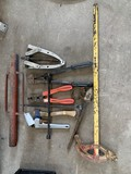 Bolt Cutters, Puller, T Post Driver, Pipe bender