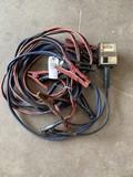 2 Sets of Jumper Cables & Battery Tester