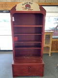 Red Wooden Hutch