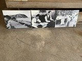 3- Black & White Canvas Pictures
