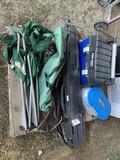 4 Gun Cases, chair & tool mate