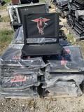 Pallet full of Texas Tech, north Texas, TCU Bleacher seats