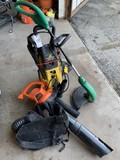 MCCulloch Electric Pressure Washer Electric & Leaf Blower